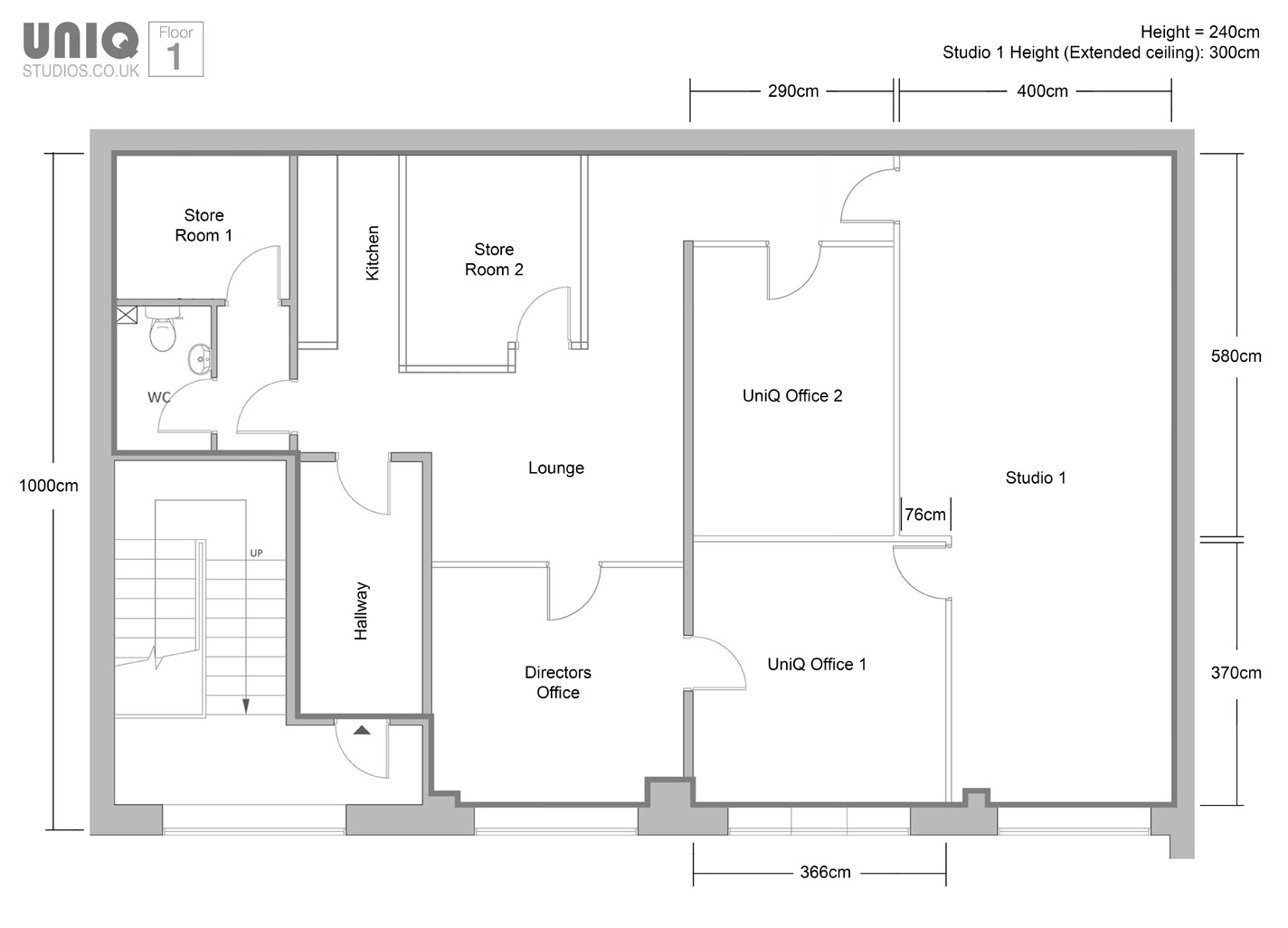 Photography Studio Floor Plans