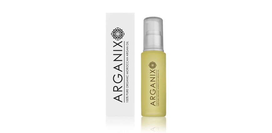 Arganix Argen Oil Bottle Packshot Photography