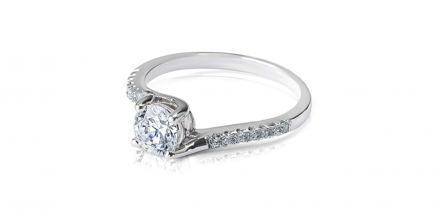 Diamond Ring Commercial Jewellery Photography