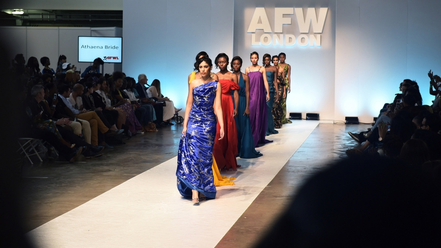 Athaena Bride AFW London 2015 Event Video Production