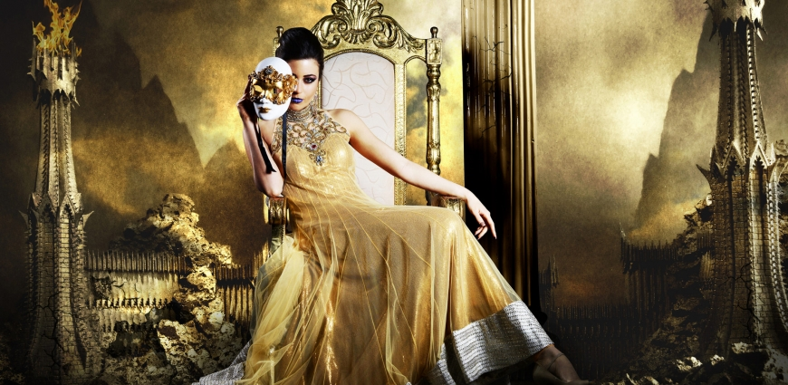 Annika Gold Dress Creative Photography